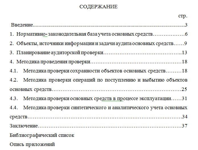 Аудит основных средств на материалах ООО «РОСИНВЕСТ»